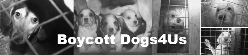Boycott Dogs4Us Banner